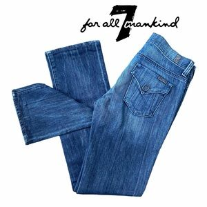 7 For All Mankind Jeans Straight Leg Size 25